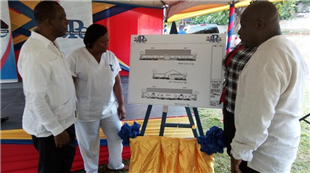 GROUND BROKEN FOR NEW WARD AT ST. JAMES INFIRMARY