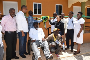 Manchester gets two indigent houses