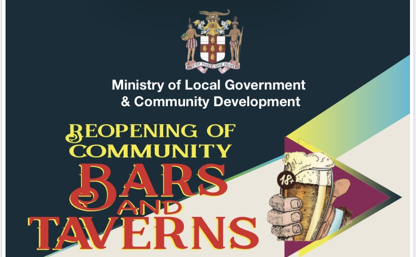 Minister of Local Government Urges All Community Bar Owners and Operators to Obey All Rules When They Are Allowed to Re- Open on May 19