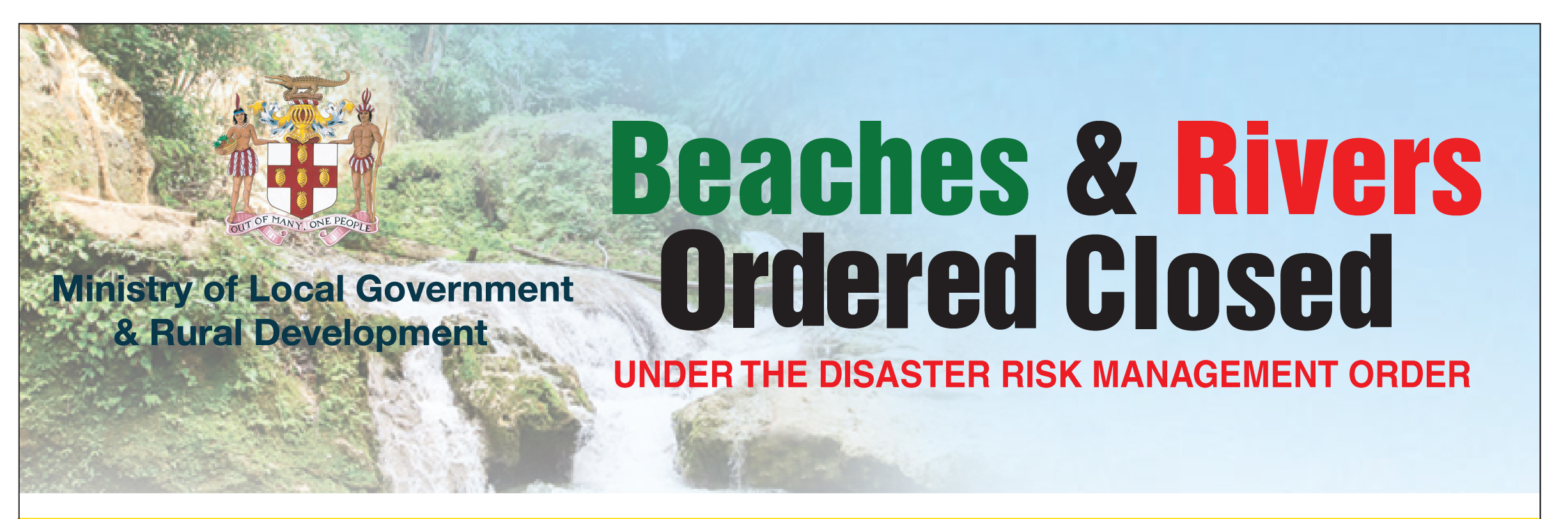 List of Beaches and Rivers ordered closed