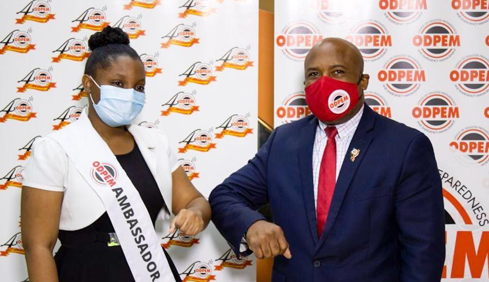 ODPEM Names Youth Ambassador