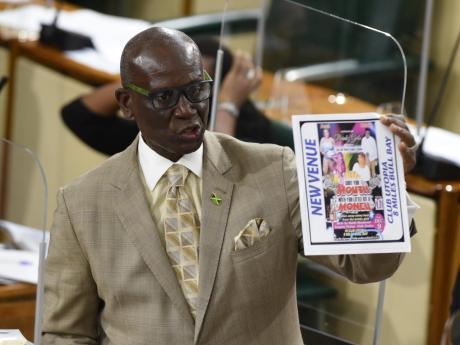 Statement to The House of Representatives By Hon. Desmond Mckenzie